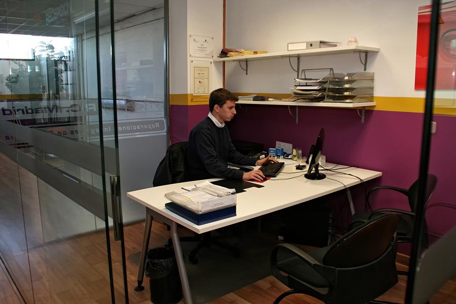 Oficinas ric madrid for Oficinas envialia madrid
